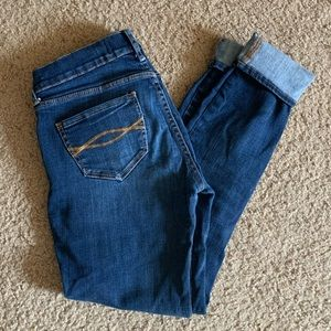 "Abercrombie & Fitch ""Perfect Stretch"" Skinny Jeans"
